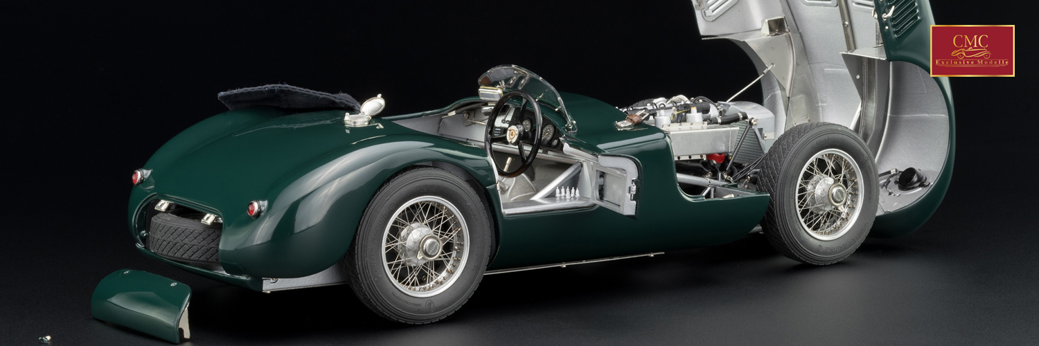 Jaguar C-Type 1952 British Racing Green