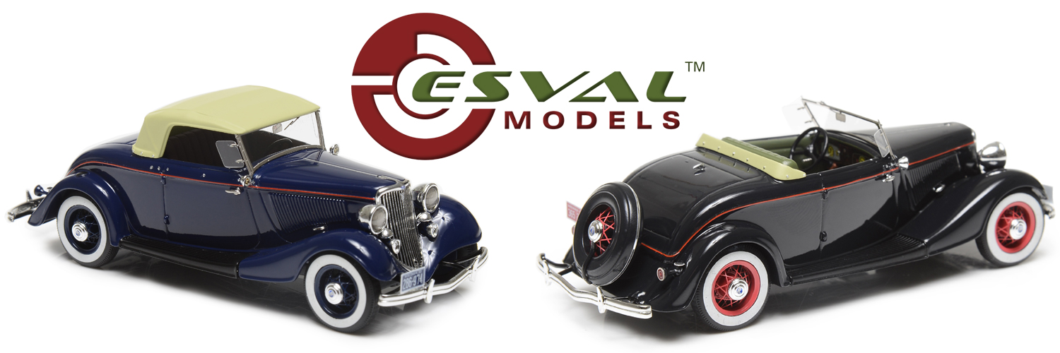 Ford Model 40 Roadster 1zu43 Esval Models