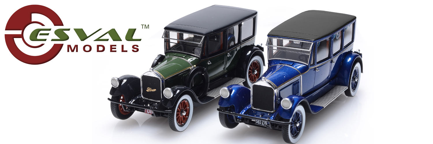 Pierce Arrow Modell 32 Limousine 1:43 Esval model
